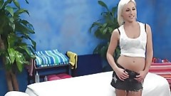 Sweet blondie can't reality without to have having benefit from with pretty sporty masseurs