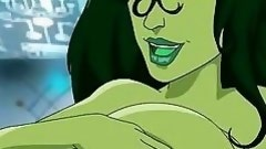 this chick hulk has weighty bendy tits