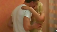 Pretty male is giving a lick and undressing his girlfriend on cam in advance of having worthy love making act