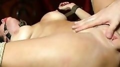 gagged milf fixed firmly and fucked