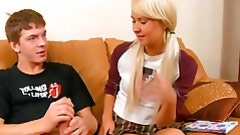 Nasty guy-ally removes legal age teenager angel's