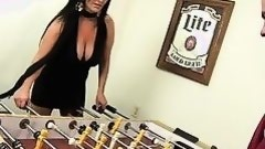foosball and rimjobs with milf