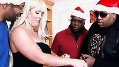 ebony thugs gain a mommy for christmas