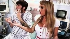 nurse getting nasty with her patient