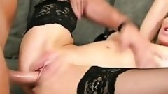 golden-haired milf impaled by a severe cock