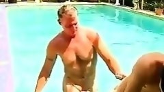 Gay clip of Brett Anderson is one lucky daddy, he's met up with horny