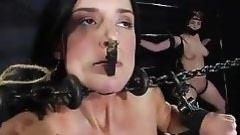 chained prostitutes in a dark vault
